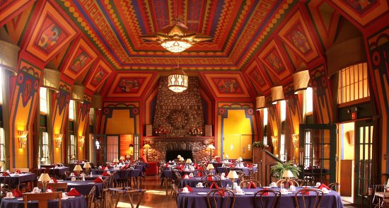 Naniboujou Lodge: Naniboujou's historic dining room.