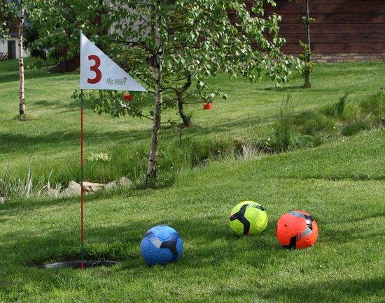 Destne, Repubblica Ceca: Alfa Resort FootGOLF