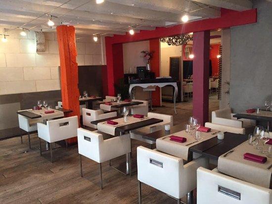 salle de restaurant foto di l 39 accalmie tours tripadvisor. Black Bedroom Furniture Sets. Home Design Ideas