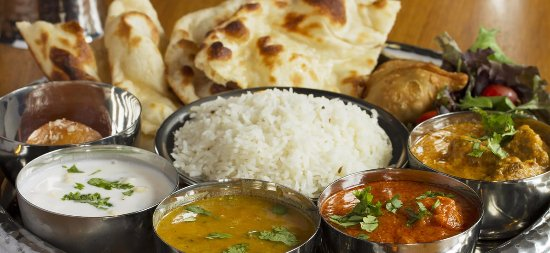 Tewksbury, MA: Lunch Thali: Complete and delicious