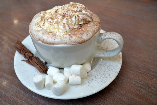Nicholls Coffee Shop: Hot chocolate