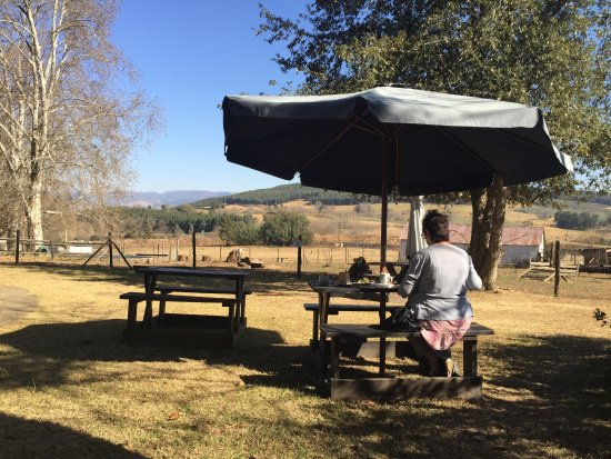 Lidgetton, South Africa: Enjoying the tranquility of the stunning outdoors