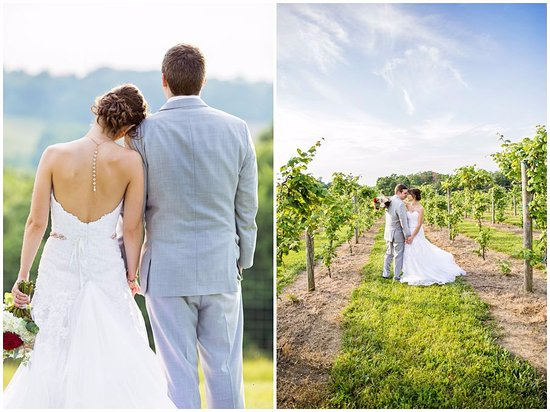 Dover, OH: Wedding at The Tool Shed in Breitenbach Vineyards
