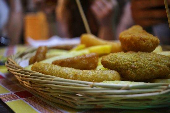 Mercato San Severino, Italy: fritto