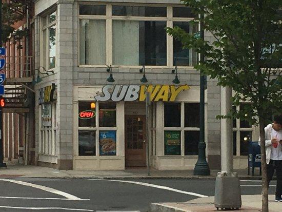 Subway New Haven 742 Chapel St Menu Prices