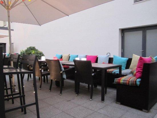 Park Plaza Trier: Binnenplaats