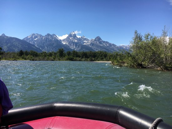 Moose, WY: Every bend in the river offers breath taking views of the Tetons!