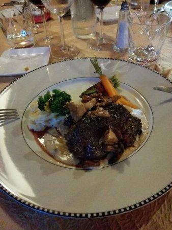Restaurant La Hulotte Au Lion D'or : plat principal