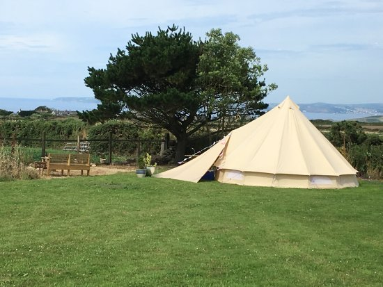Breage, UK: Daisy Bell Tent