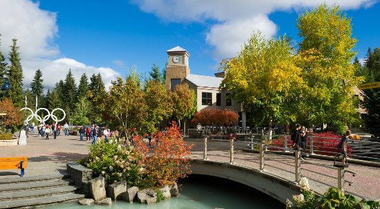 Whistler Village in Fall Photo by Mike Crane