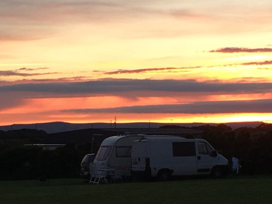 Breage, UK: Evening sunset