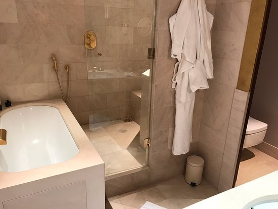 Park Hyatt Paris - Vendome: Deluxe room's bathroom with her/his dressing areas