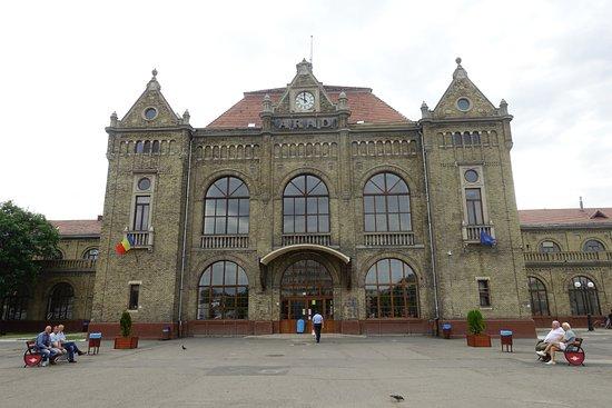 Arad Central Railway Station