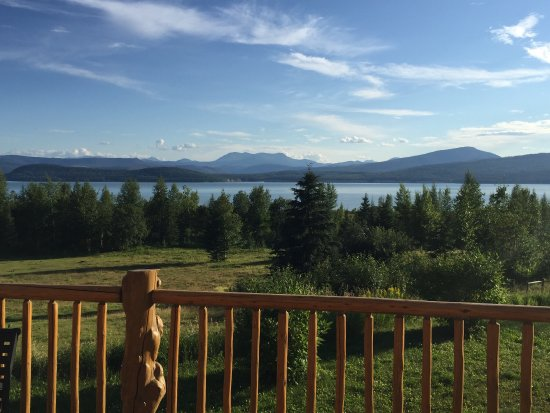 Hudson's Hope, Canada: Some views from both the campground and lodge grounds