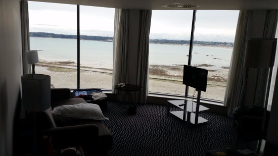 Suit - view from lounge