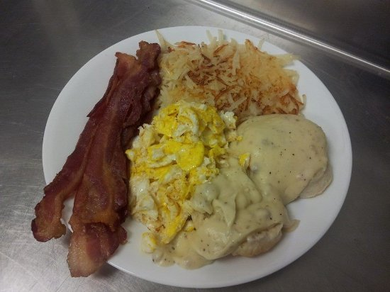 Cotter, AR: One of our great breakfast specials.