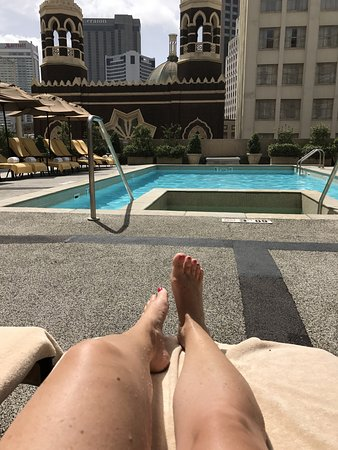 The Roosevelt New Orleans, A Waldorf Astoria Hotel: Ahhh, finally relaxing