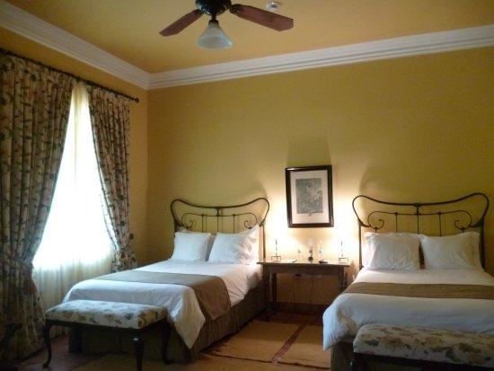Patios de Cafayate Wine Hotel: Vista de la habitación