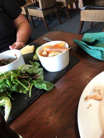 Barnham Broom, UK: Raw meat and rotten salad urghhh