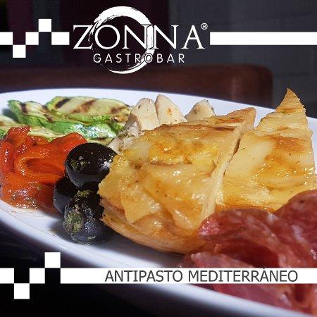 Zonna GastroBar: Antipasto mediterráneo
