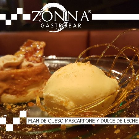 San Rafael de Escazu, Costa Rica: Mmmm...postre: Flan de queso mascarpone y dulce de leche