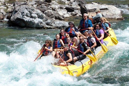 West Glacier, MT: Lead Paddlers!