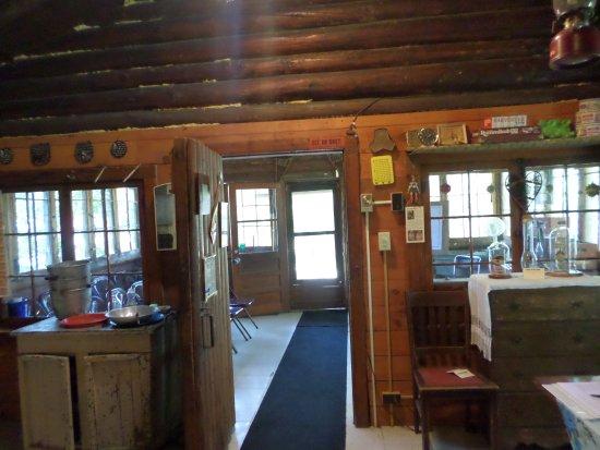 Ely, MN: Inside Cabin