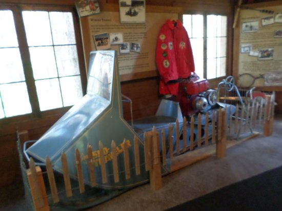 Ely, MN: Dorthy's snowmobile