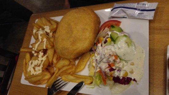Винзен, Германия: Burger inside out! :)