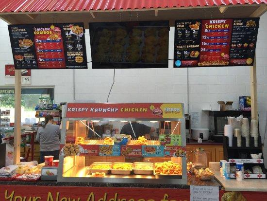 Ellijay, GA: Chicken Counter