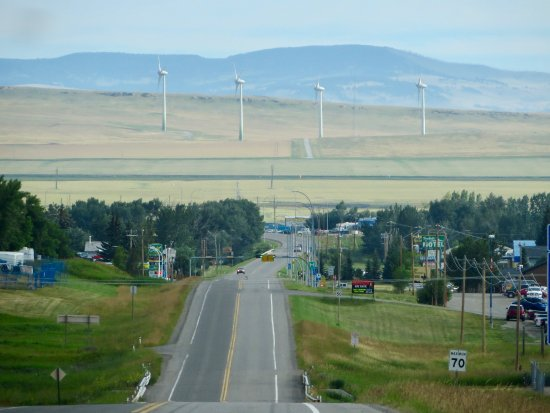 Kananaskis Valley: wind farm