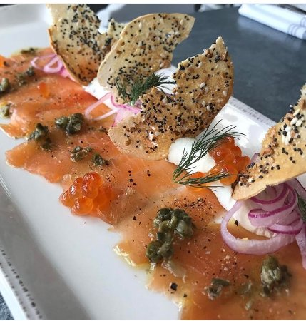 Salmon gravlox picture of veronica fish oyster for Veronica fish and oyster