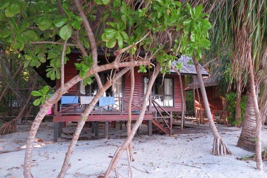 Lankayan Island Dive Resort: Beach villa