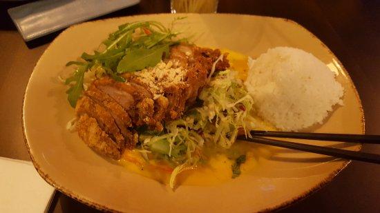 Salade D Algues Japonaise Et Canard En Croute D Amandes Et Sauce
