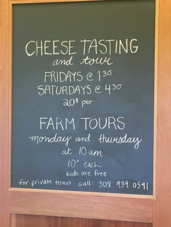 The Grey Barn: Beautiful farm, excellent cheese making tour, and yummy cheese!  The farm stand has produce, mea