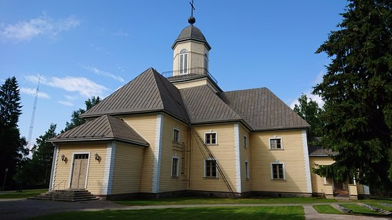 Puumala wooden church
