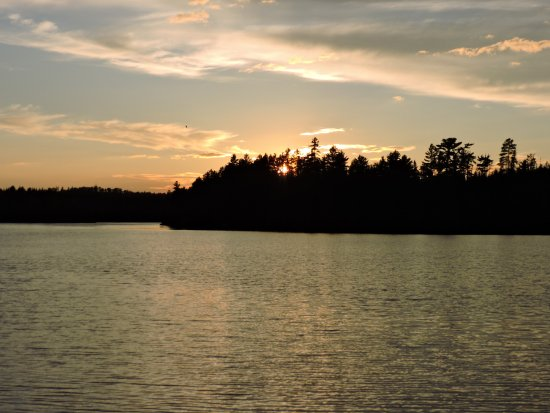 Ely, MN: Beautiful sunset.