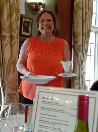 Drayton, UK: The Hostess with the mostest!