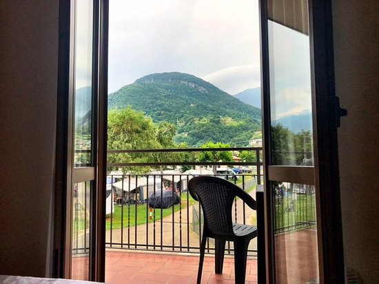 Domaso, Italia: View from the room, looking out