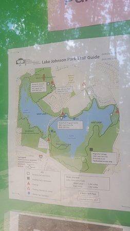 Map Of Lake Johnson Picture Of Lake Johnson Park Raleigh - Johnson lake map
