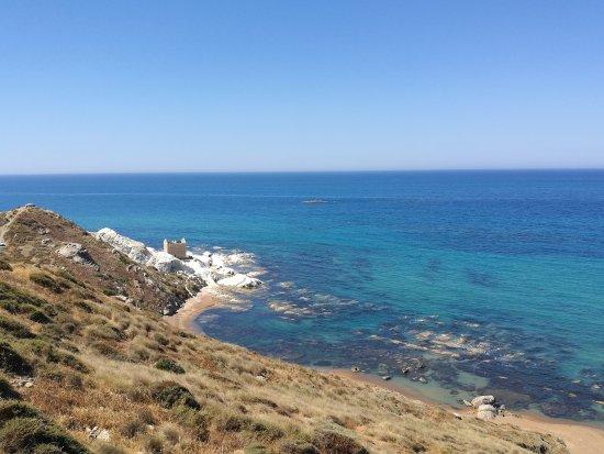 Riserva Naturale di Punta Bianca: spettacolare