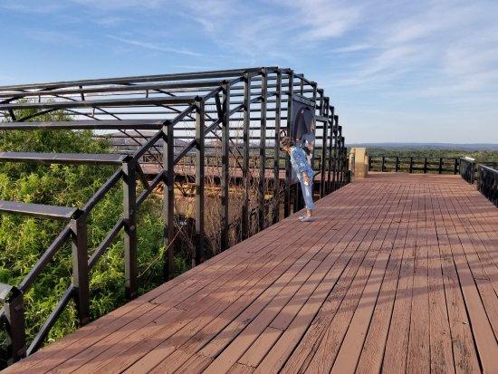 Trois Estate at Enchanted Rock: Observation deck