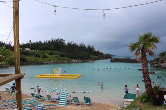 St. George, Islas Bermudas: View from the restaurant's deck