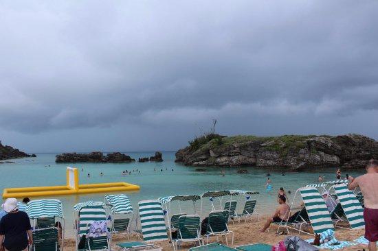 St. George, Islas Bermudas: Chairs on the tiny beach
