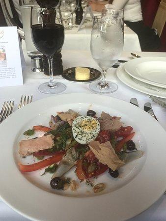 Rules Restaurant: Salade Nicoise