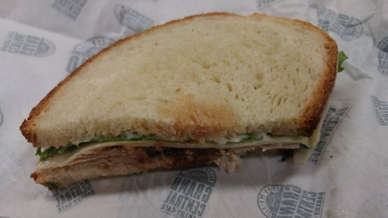 Burien, WA: Turkey & Chutney Sandwich