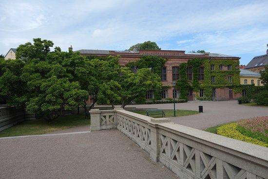 Lund, Sverige: The library.