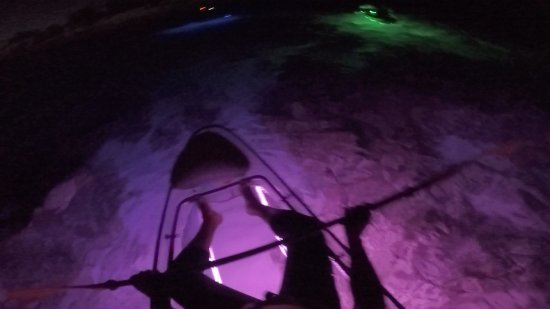 Island Harbour, Anguilla: Night Kayaking