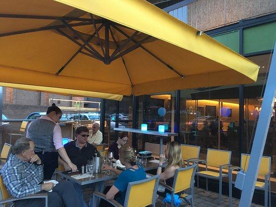 Vienna, VA: The outside seating. Rockfish.
