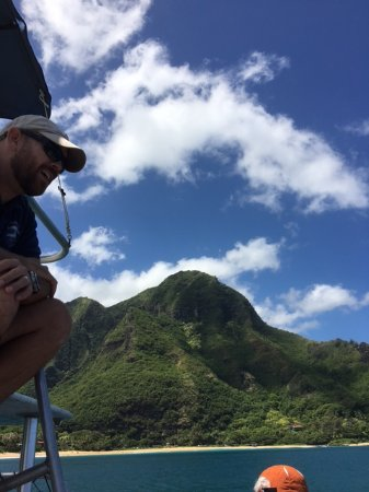 Kilauea, Гавайи: Capable Captain sharing stories of history and adventures